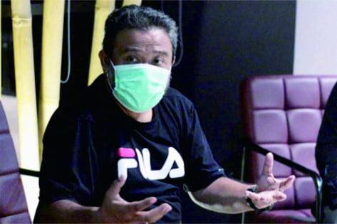 Ketua PWI Purbalingga, Joko Santoso