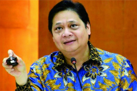 Menteri Koordinator Bidang Perekonomian (Menko Ekonomi) Airlangga Hartarto