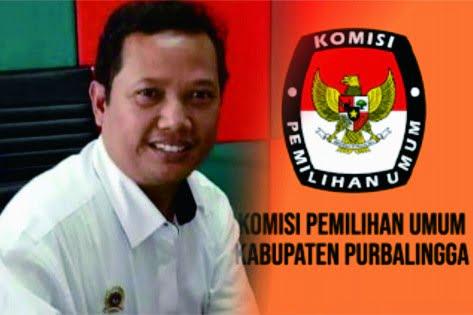 Komisioner KPU Purbalingga, Divisi Sosialisasi, Pendidikan Pemilih (Sosdiklih) SDM dan Partisipasi Masyarakat (Parmas), Andri Supriyanto