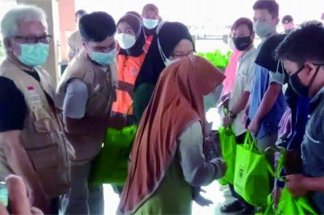 Pramuli Kwarcab Purbalingga Salurkan Bansos untuk Anak Yatim Piatu Korban Pandemi Corona